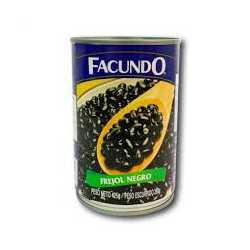 FRIJOL NEGRO FACUNDO 425G