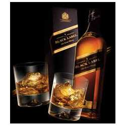 JOHNNIE WALKER BLACK LABEL X 70 ML