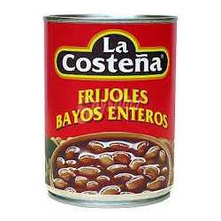 FRIJOLES BAYOS ENTEROS X 560 GRS COSTEÑA