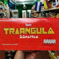 chocolate triangulo x 22