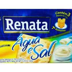 GALLETAS RENATA AGUA Y SAL X 360 GRS