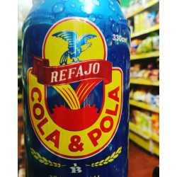 REFAJO COLA POLA LATA X 330 ML