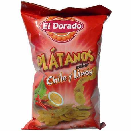 PLATANITO CHILE Y LIMON EL DORADO X 100 GRS