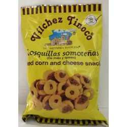 ROSQUILLAS SOMOTEÑAS (maíz y queso)