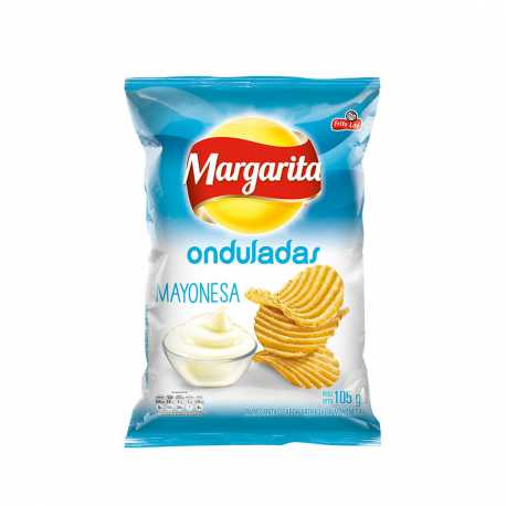 PAPAS MARGARITA MAYONESA 105GRS