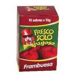FRESCO SOLO FRAMBUESA X 10SOBRES