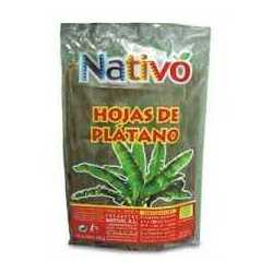 HOJA DE PLATANO NATIVO 500G