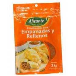 CONDIMENTO EMPANADAS ALICANTE 25G