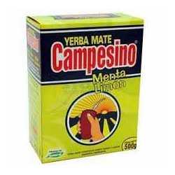 YERBA M. CAMPESINO MENTA-LIMON 500GR